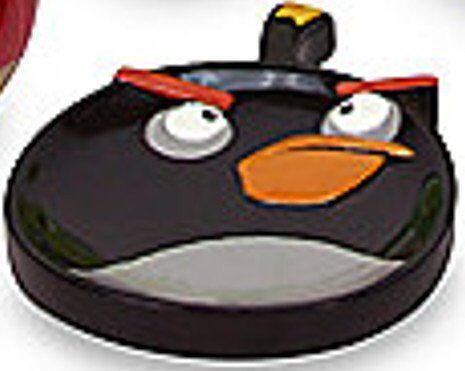"Angry Birds /""Burst/"" Black Bird Soap Dish"