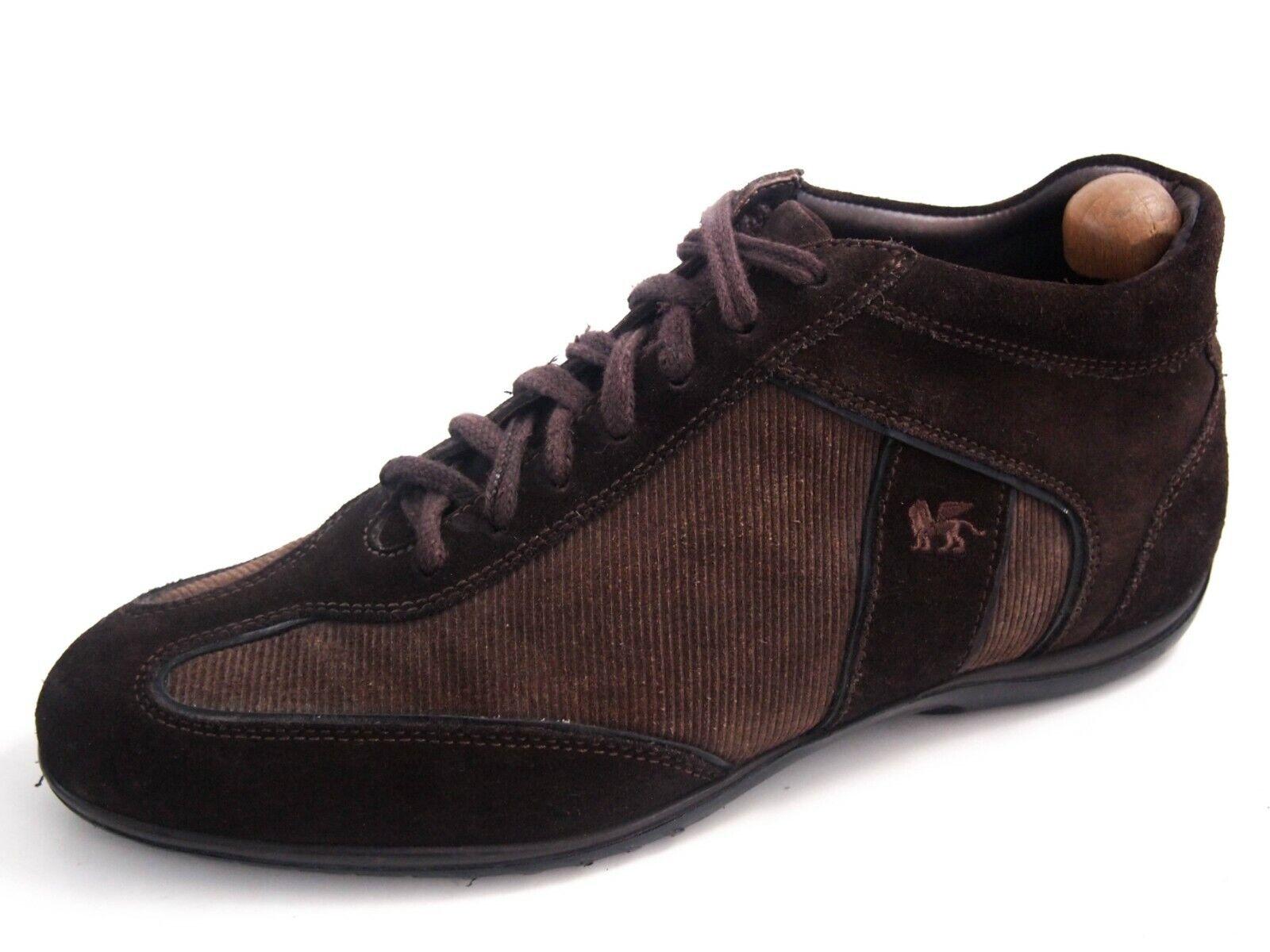 Pal Pal Pal Zileri high-top scarpe da ginnastica, Marroneee suede, uomo scarpe Dimensione US 10 EU 43  420 43fcc5
