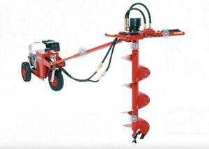 HOC HYDPS11H LITTLE BEAVER HYDRAULIC AUGER + FREE SHIPPING + 1 YEAR WARRANTY Canada Preview