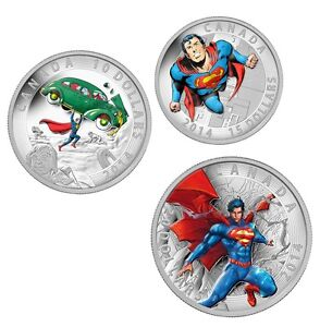 2014-Iconic-Superman-Comic-Book-Cover-Silver-Coins-10-15-20-Mint-NEW