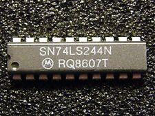 10x SN74LS244N Octal Buffers And Line Drivers, Motorola