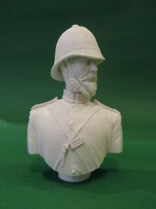 British Empire 24th Foot Resin Military Bust - Unpainted