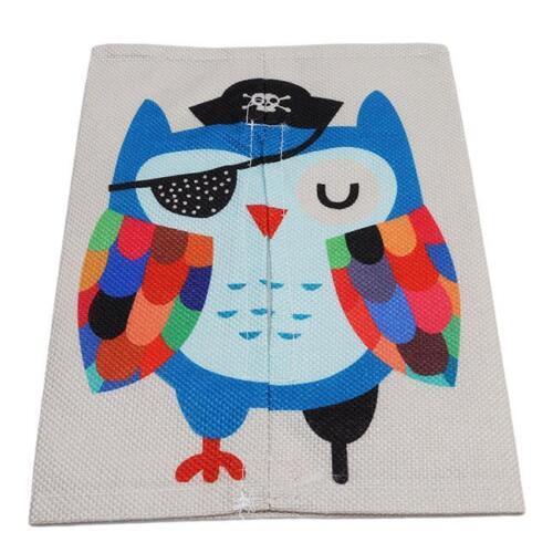Cute Cartoon Animals Tissue Box Car Room Napkin Cover Paper Holder Decor NEW S