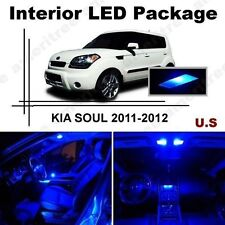 Blue LED Lights Interior Package Kit for Kia Soul 2011-2012 ( 7 Pieces )