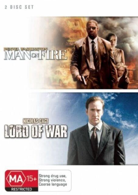 Man on Fire / Lord of War (DVD, 2007, 2-Disc Set)