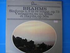LP BRAHMS SINFONIA N° 2 IN RE MAG. OP 73-HAYDN OP 56 a WOLFANG SAWALLISCH