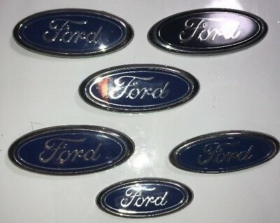 2015-18 Ford F150 TAILGATE emblem custom GLOSS BLACK AND MATTE black OVAL
