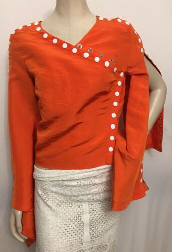 Come She Women's Undone Assoulin Rosie Small Top 00 Blouse 2695 Sz Nwt Msrp RIZq6R