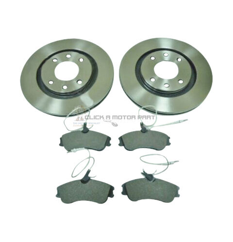 CITROEN XSARA PICASSO 1.6 UP TO JULY 01 FRONT 2 BRAKE DISCS /& PADS 266MM