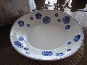 Details about Villeroy & Boch Farmhouse Touch Blue Flowers dinnerware set