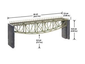 Plus 67027 Échelle H0,pont À Arc Inversé,36 Cm Long # Neuf Emballage D'origine