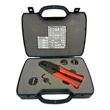 Pasternack Coaxial Crimp Tool Set 4100 Crimper With 4100 55 56 57 Amp 59 Die Sets