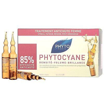 1 PC Phyto Phytocyane Densifying Treatment Serum 12 x 7.5ml Hair Regrowth #7322