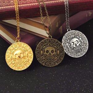 Aztec Gold Medallion Pendant