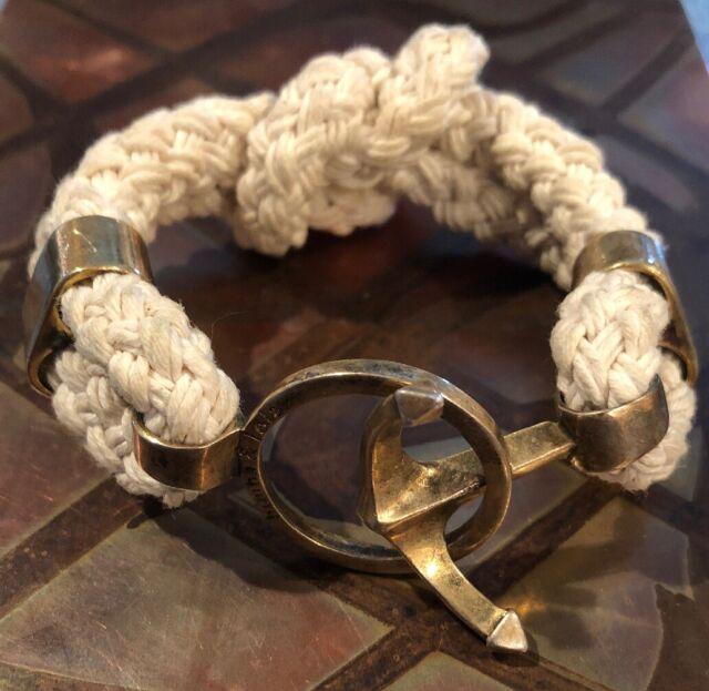 Brass Anchor Key Ring ~ Nautical Maritime Captain Boat ~ Anchor Keyring Keychain
