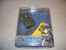 """ELITE FORCE 1/6 SCALE """"D-DAY"""" WWII T-5 PARACHUTE 12"""" FIGURE  BBI MASTER CRAFT"""