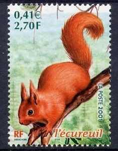 stamp-TIMBRE-FRANCE-NEUF-N-3381-FAUNE-ECUREUIL