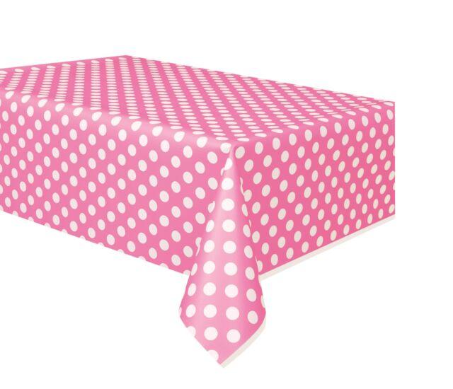 Hot Pink Polka Dot Dinner Napkin Set of 4 BRAND NEW