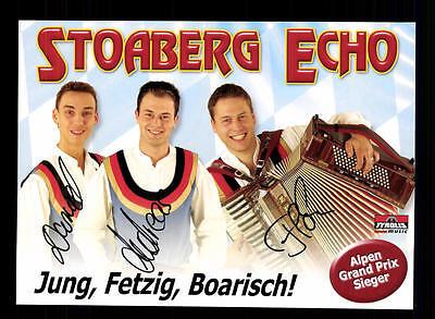 National LiebenswüRdig Stoaberg Echo Autogrammkarte Original Signiert ## Bc 64026 Schnelle WäRmeableitung