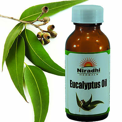EUCALYPTUS OIL 100% Natural Pure UnDiluted UnCut ESSENTIAL OIL 5ML TO 1000ML