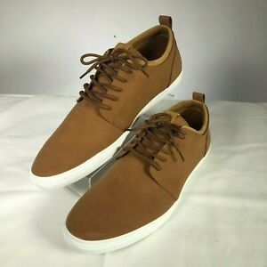 MENS-SZ-12-ALDO-Casual-Shoes-Brown-Suede-Lace-Up