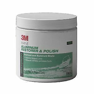 Bright 3m 09019 Marine Metal Restorer And Polish 18-ounce Paste Glues, Epoxies & Cements