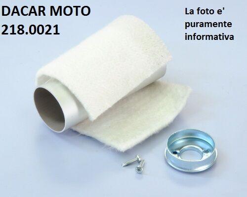 218.0021 TUBO SILENCIADOR DE ESCAPE POLINI VESPA 125 XL