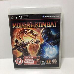 Mortal Kombat - PS3 Game - PlayStation 3 includes manual  Free Fast P&P!