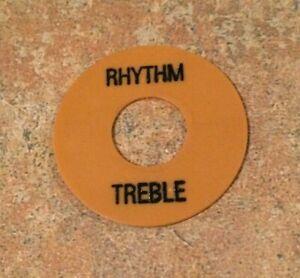 Tan-Historic-Genuine-Original-Gibson-Les-Paul-Switch-Washer-Ring-Rhythm-Treble