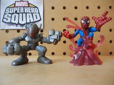 Marvel Super Hero Squad ULTRA RARE Complete Wave 10: ULTRON & SPIDER-MAN Red Goo