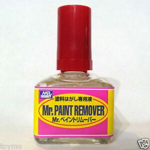 Mr-Hobby-Gunze-Sangyo-GSI-Creos-Paint-Remover-R-40ml-T114-Model-Kit-Color-Bottle