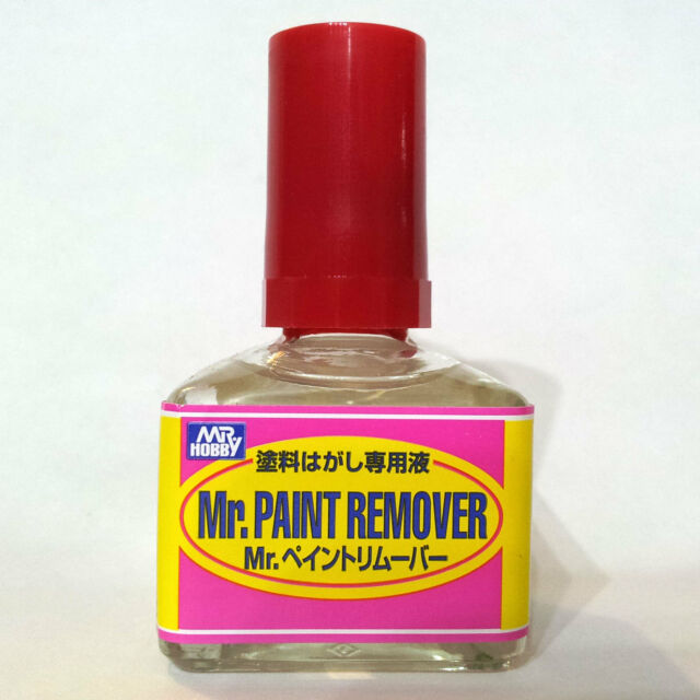 Model Paint Remover Mr Hobby Gunze Sangyo GSI Creos Paint Remover R 40ml T114 Model Kit Color  Bottle