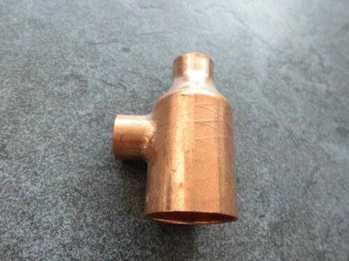 stück reduziert 28 x 15 x 15mm Nr.5130 Fitting löten f Kupferrohr 28mm Kupfer T