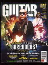 Guitar World Magazine December 2010 Satriani Maiden Pink Floyd Clapton MBX66