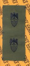US Army Aide 1 star BG General Branch Insignia sew on patch set