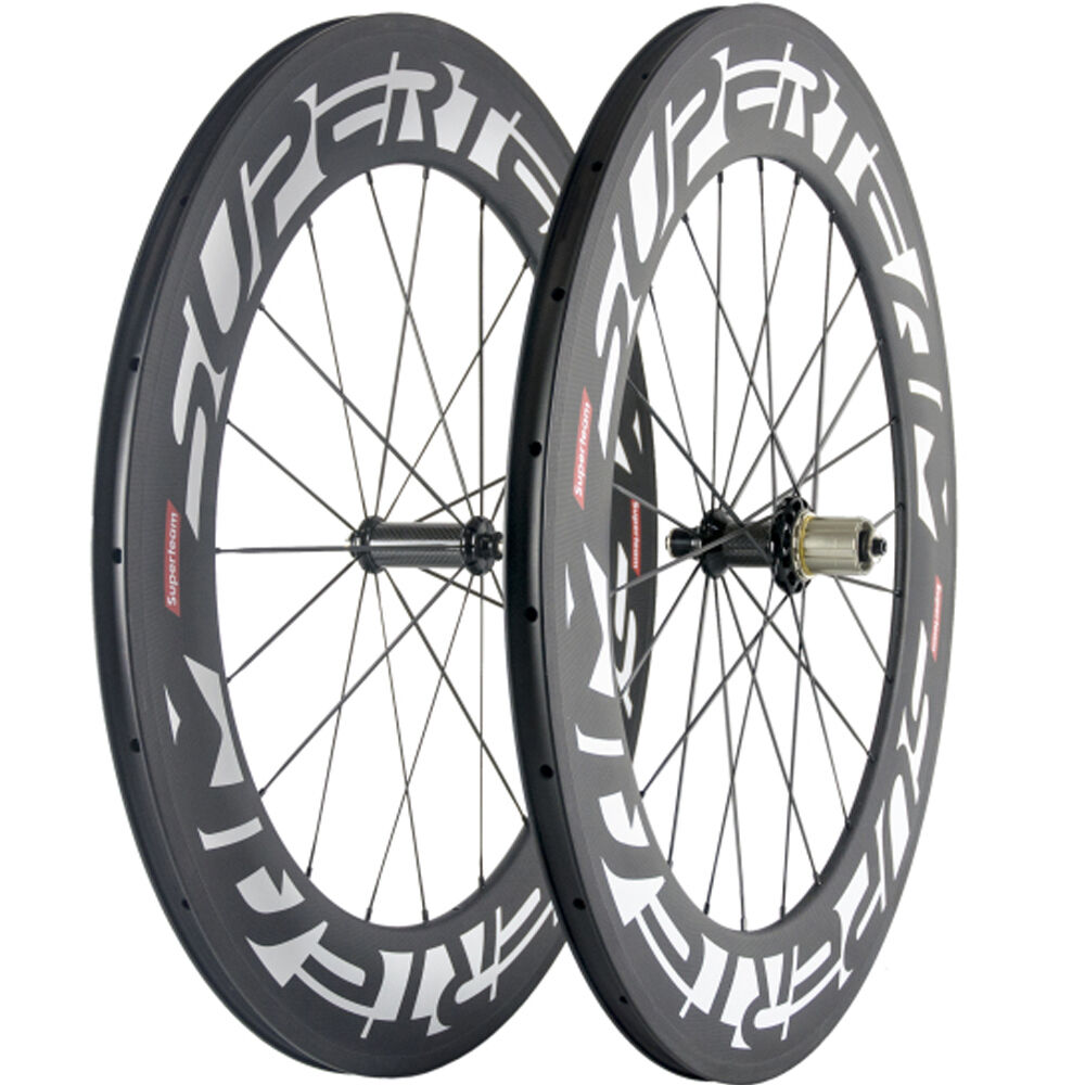 88mm Clincher Carbon Wheelset Superteam Carbon Road Wheels R36 Matte Bike Wheel