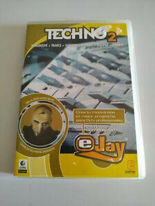 Techno 2 Progresive Trance Hardcore E-Jay Dj - Set Für PC Cd-Rom