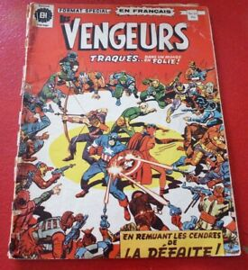 Soft-Cover-French-Heritage-Comic-Vengeurs-No-21-Large-Size