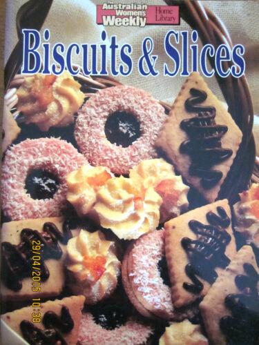 1 of 1 - ~BISCUITS & SLICES COOKBOOK - THE AUSTRALIAN WOMEN'S WEEKLY - VGC~