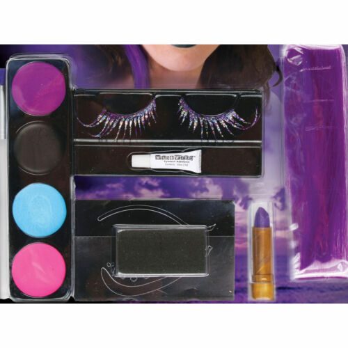Pirate Fantasy Makeup Kit FX Kit Halloween Costume Accessory with Eyelashes