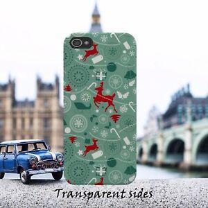 Xmas-Christmas-Reindeer-Pattern-Phone-Case-Cover