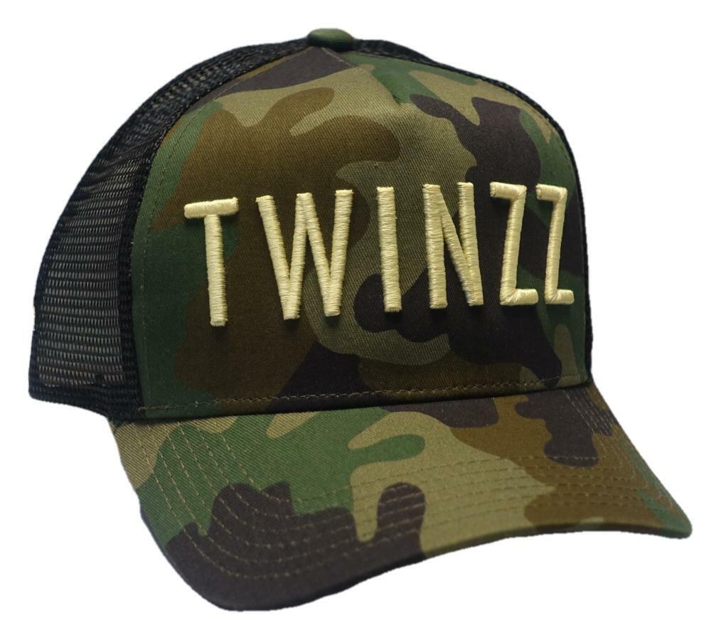 Twinzz-twinzz 3D Mesh Trucker Cap inviato stesso giorno *