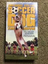 (CL) COLUMBIA TRISTAR SOCCER DOG THE MOVIE! VHS COLOR #98 MINUTES PG FAMILY