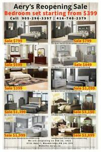 !!Huge Furniture Sale!!. LOWEST PRICE GUARANTEED....  Bed starts from $129, We also carry Ashley Furniture London Ontario Preview