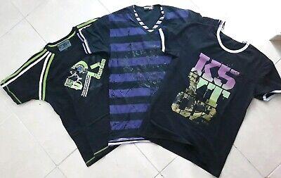 Instancabile Lotto Stock Abbigliamento Uomo T-shirt M Alta Sicurezza