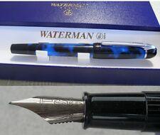 Waterman Phileas Kultur Füllfederhalter F  Farbe marmor - blau
