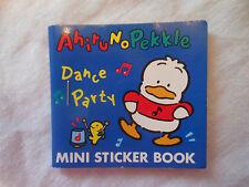 Sanrio AhiruNoPekkle dance party  MINI STICKER BOOK 1990 1995 unused JAPAN