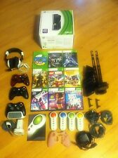 Microsoft Xbox 360 S with Kinect 250GB bundle with games and accessories