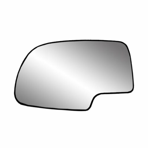 New Heated Driver Side Mirror Glass Replacement w Backing Plate for Chevy GMC
