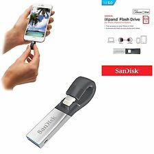 Sandisk iXpand Flash Drive Memory Stick USB Stick 64GB For iPhone, iPad & PC's